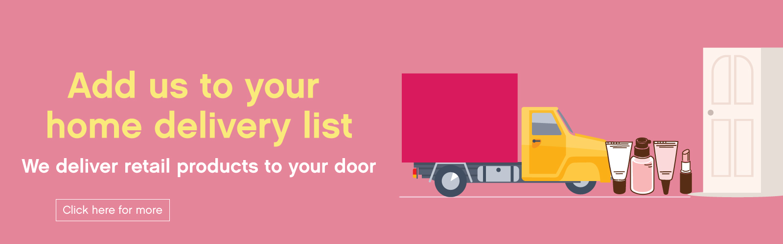 Home-delivery salons
